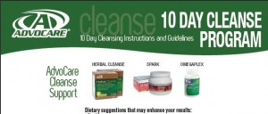 24 Day Challenge Instructions - Brochure - Max Phase - Cleanse Phase